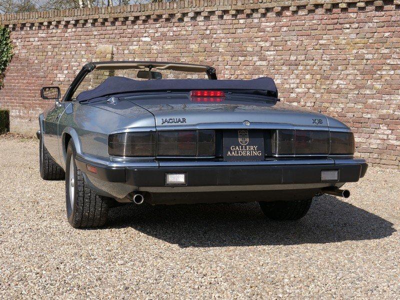 1993 Jaguar XJS 4.0 Convertible only 69.492 miles! incl. VAT For Sale (picture 6 of 6)