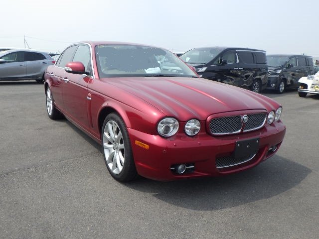 2008 Jaguar Sovereign X358 27k miles Radiance red perfect example For Sale (picture 4 of 6)