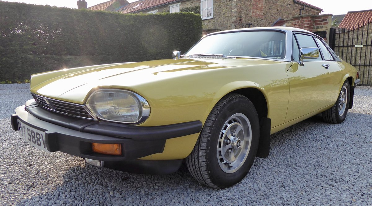 1979 Jaguar XJS Pre HE   ( 2 previous owners 35,000 miles ) SOLD (picture 2 of 6)