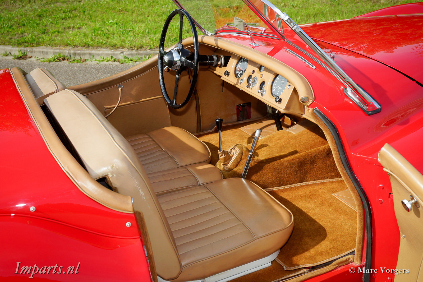 Excellent Jaguar XK120 SE OTS 1954 LHD For Sale (picture 3 of 6)