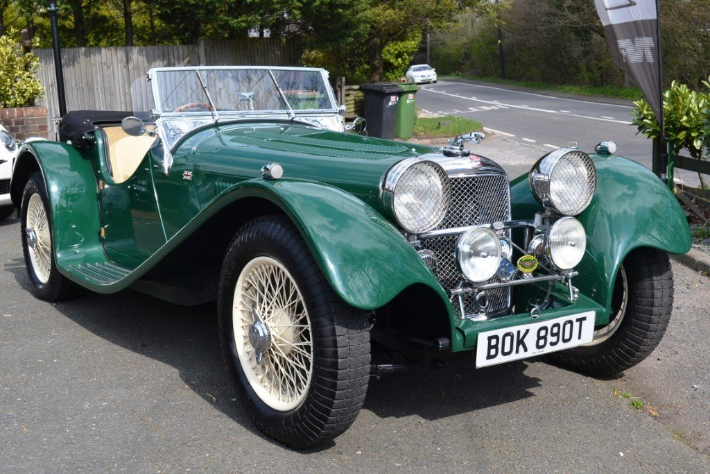 2010 Jaguar SS100 Re-Creation For Sale (picture 1 of 6)