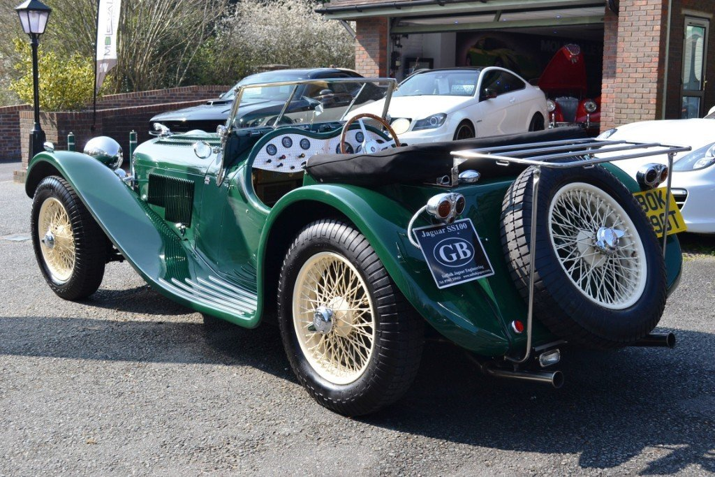 2010 Jaguar SS100 Re-Creation For Sale (picture 2 of 6)