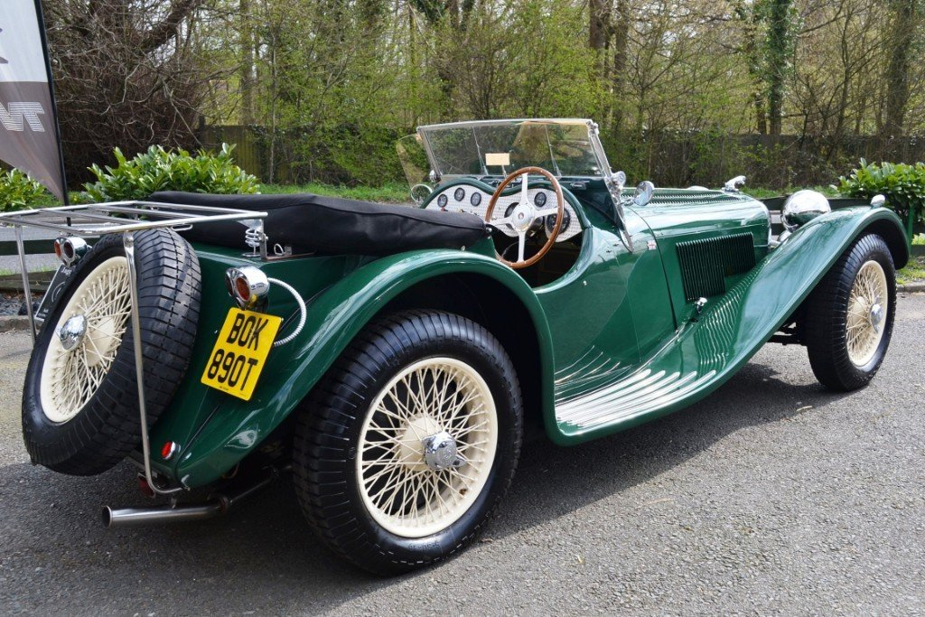 2010 Jaguar SS100 Re-Creation For Sale (picture 3 of 6)