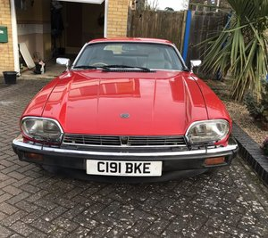 1985 XJS HE AUTO Red For Sale