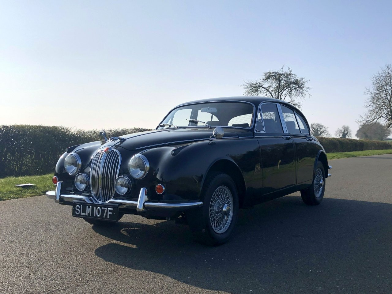 1967 Jaguar 340 MK II Automatic SOLD (picture 1 of 6)