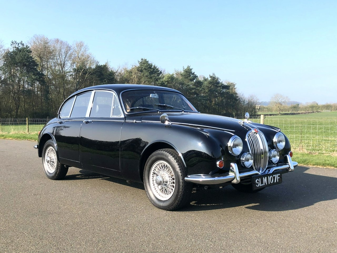 1967 Jaguar 340 MK II Automatic SOLD (picture 3 of 6)