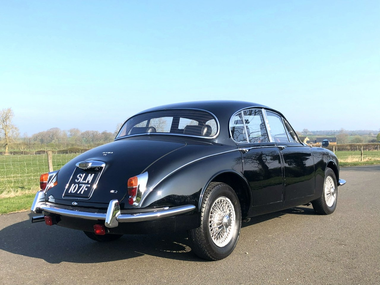 1967 Jaguar 340 MK II Automatic SOLD (picture 4 of 6)