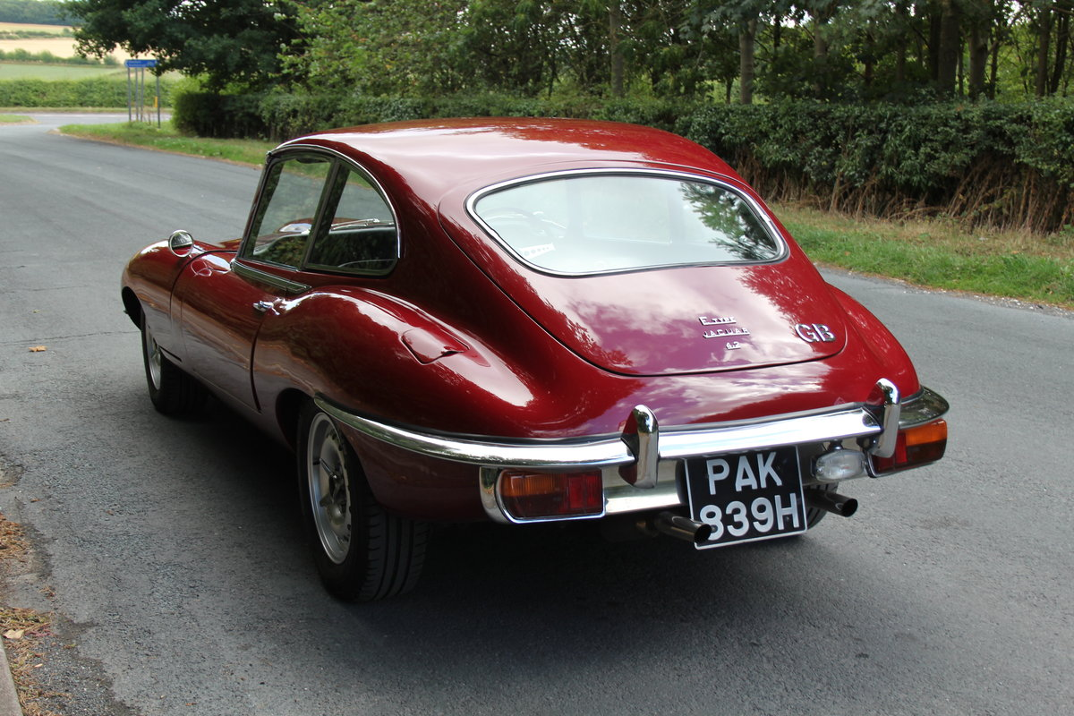 1970 Jaguar E-Type Series II 4.2 2+2 Manual UK RHD Matching No's  SOLD (picture 3 of 12)