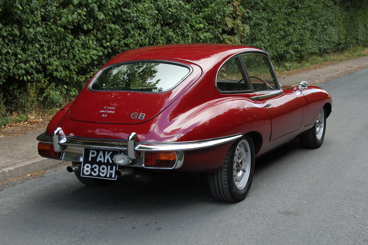 1970 Jaguar E-Type Series II 4.2 2+2 Manual UK RHD Matching No's  SOLD (picture 4 of 12)