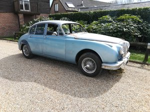 Jaguar Mk2 3.8 Manual -31,000 miles - W/Wheels - Barn Find - SOLD