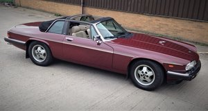 1986 Jaguar XJ-SC 5.3 V12 Targa Convertible  For Sale