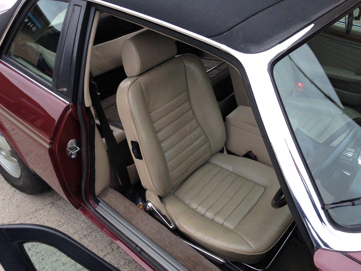 1986 Jaguar XJ-SC 5.3 V12 Targa Convertible  SOLD (picture 5 of 6)