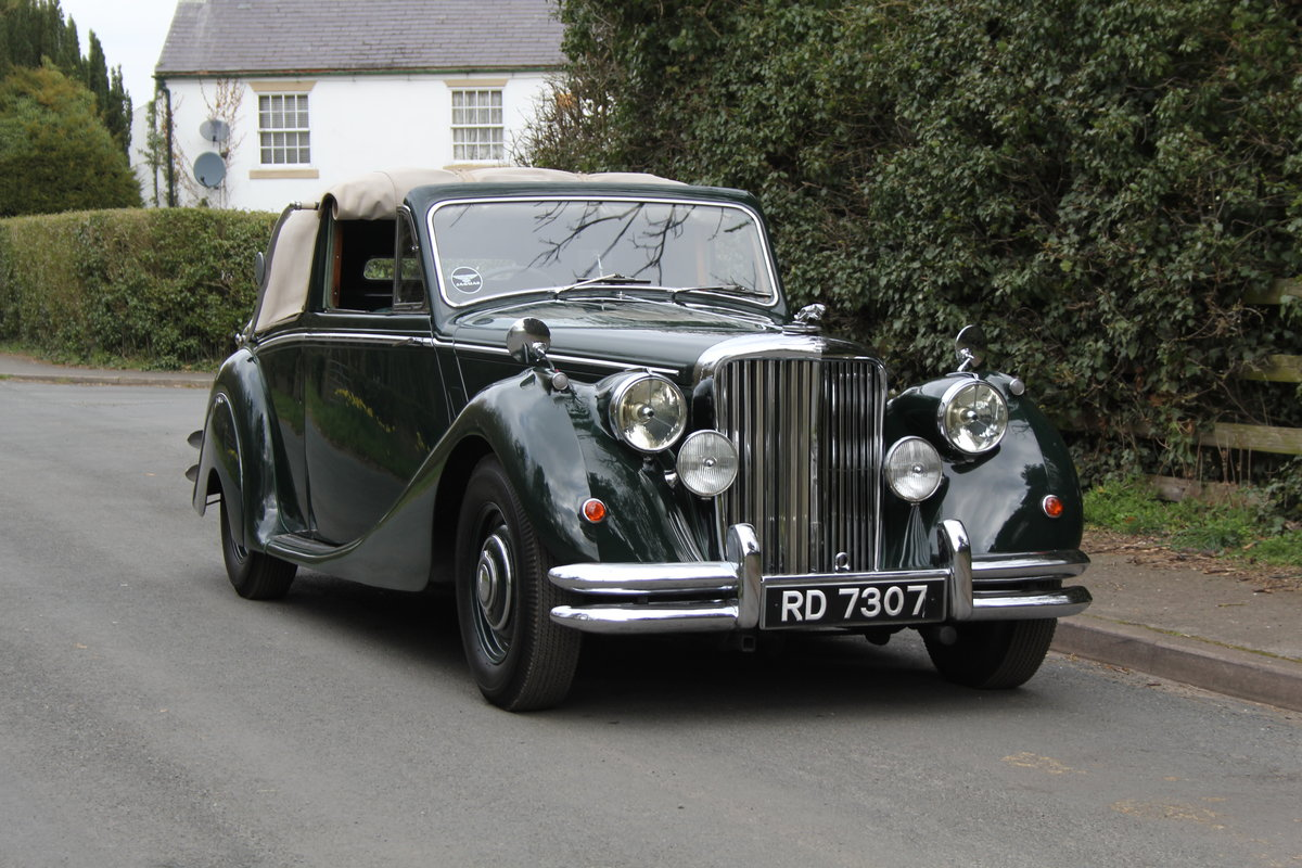 1951 Jaguar MKV 3.5 DHC -Very original-Stucturally excellent SOLD (picture 1 of 12)