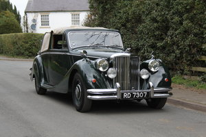 1951 Jaguar MKV 3.5 DHC -Very original-Stucturally excellent For Sale
