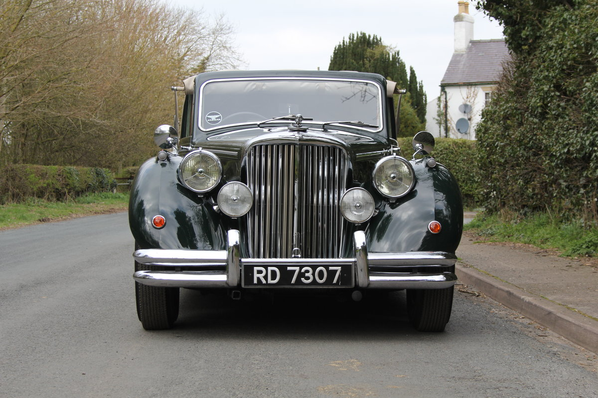 1951 Jaguar MKV 3.5 DHC -Very original-Stucturally excellent SOLD (picture 2 of 12)
