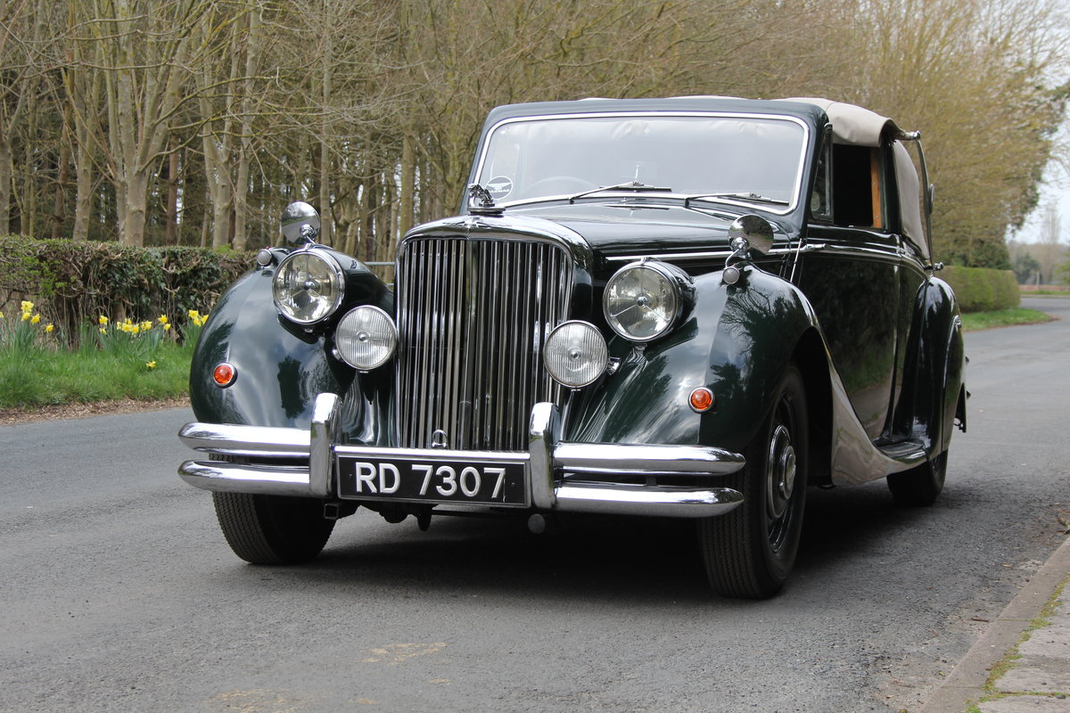 1951 Jaguar MKV 3.5 DHC -Very original-Stucturally excellent SOLD (picture 3 of 12)