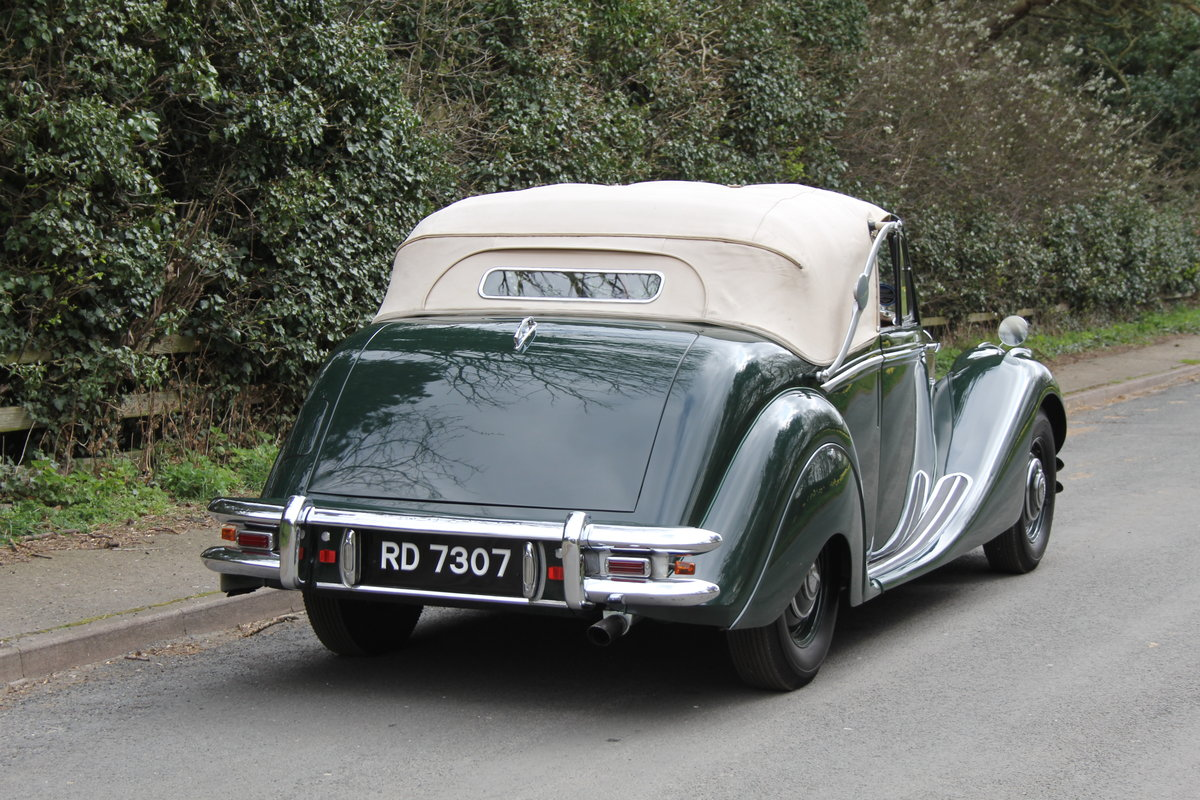 1951 Jaguar MKV 3.5 DHC -Very original-Stucturally excellent SOLD (picture 5 of 12)
