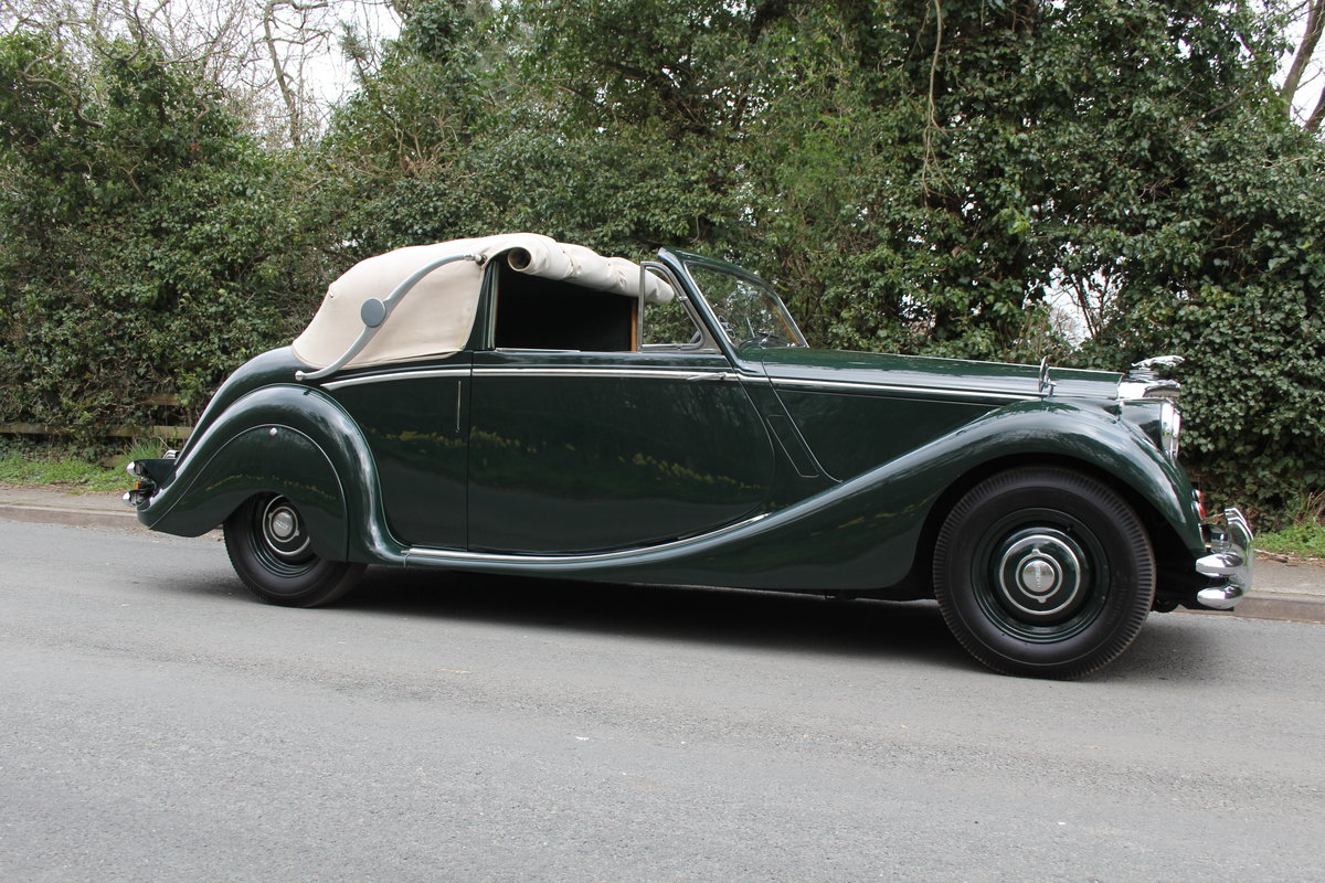 1951 Jaguar MKV 3.5 DHC -Very original-Stucturally excellent SOLD (picture 6 of 12)