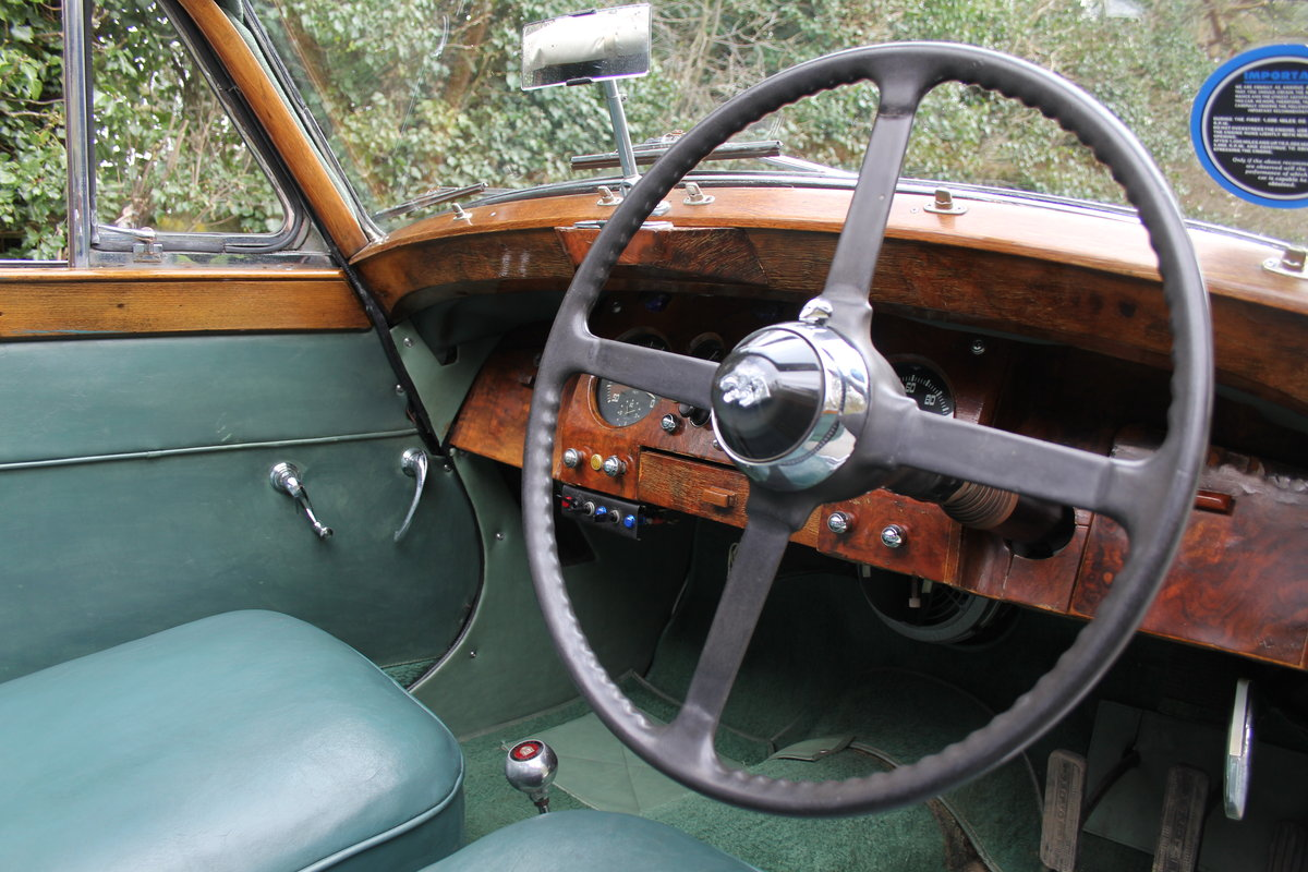 1951 Jaguar MKV 3.5 DHC -Very original-Stucturally excellent SOLD (picture 7 of 12)