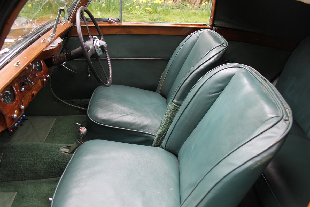 1951 Jaguar MKV 3.5 DHC -Very original-Stucturally excellent SOLD (picture 8 of 12)