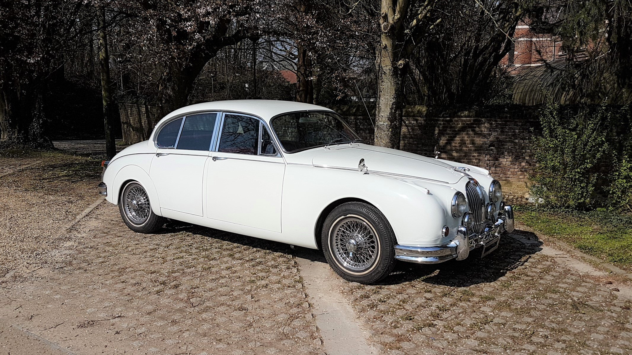 Jaguar Mk2 3.8 Automatic (1962) For Sale (picture 1 of 6)