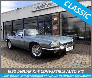 1990 JAGUAR XJ-S 5.4 V12 CONVERTIBLE AUTO For Sale