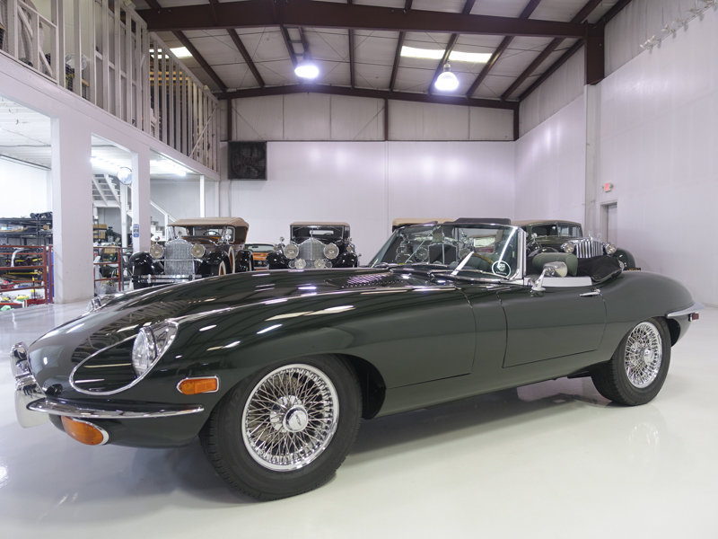 1969 Jaguar E-Type Series II Roadster For Sale (picture 1 of 6)