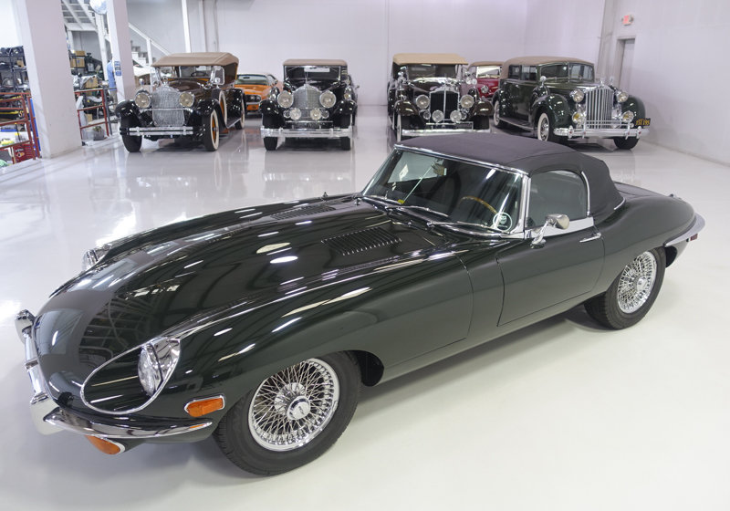 1969 Jaguar E-Type Series II Roadster For Sale (picture 2 of 6)