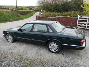 1998 Jaguar XJ Sport Green V8 3.2 Project
