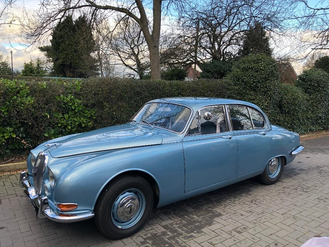 *NEW PRICE* 1965 3.8 Manual Jaguar S-Type with O/D For Sale (picture 1 of 6)
