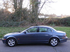 2001 JAGUAR S TYPE 3.0 V6 SE.. 38,000 MILES & FSH.. TOP SPEC SOLD