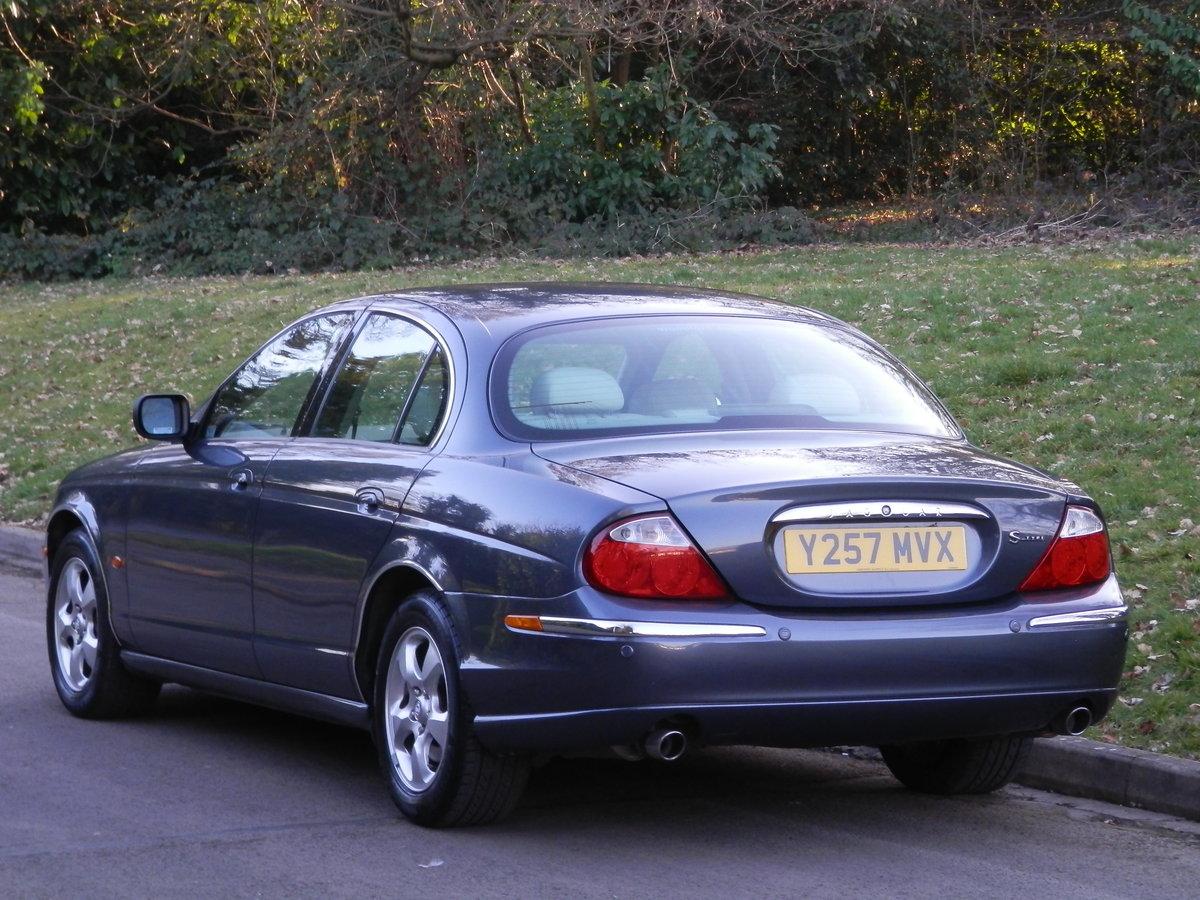 2001 JAGUAR S TYPE 3.0 V6 SE.. 38,000 MILES & FSH.. TOP SPEC SOLD (picture 5 of 6)