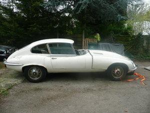 1973 JAGUAR E TYPE RHD MANUAL PROJECT For Sale