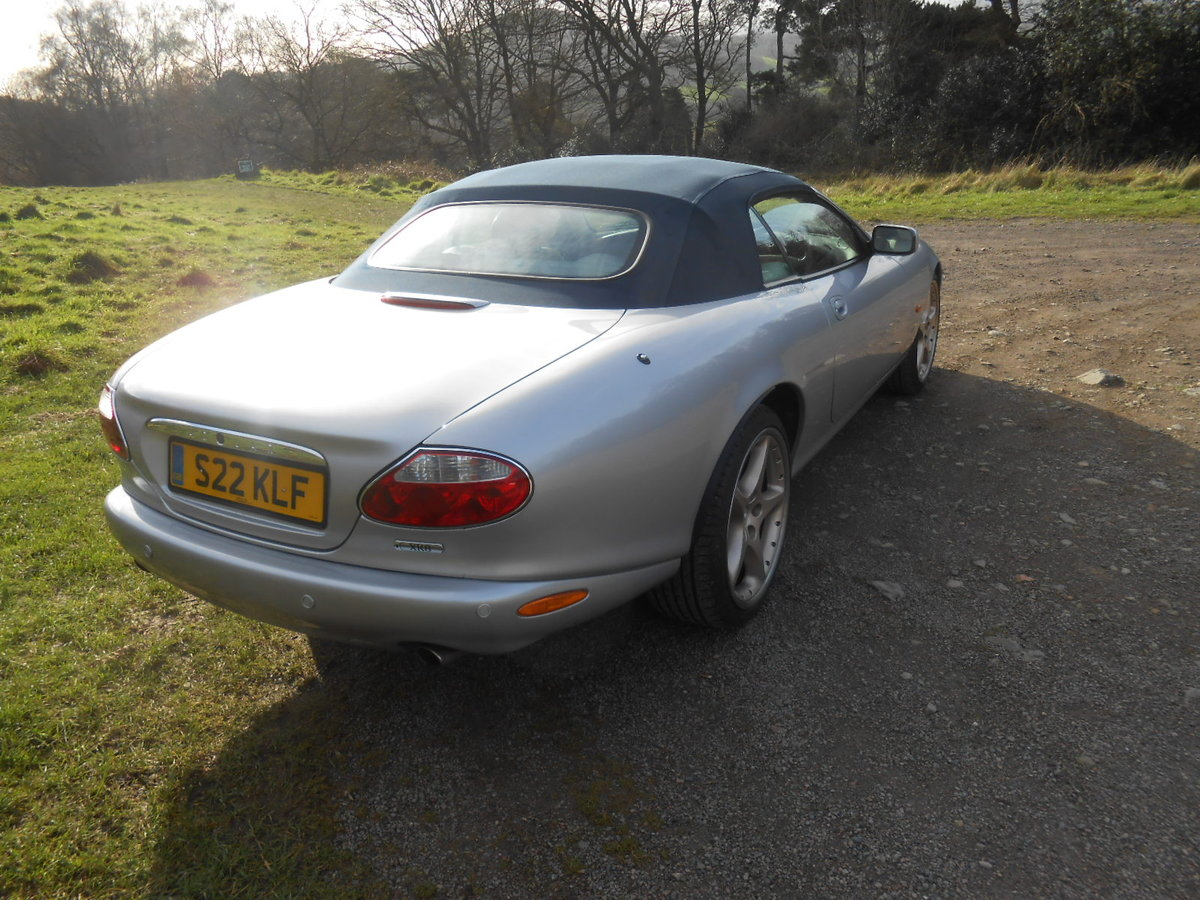 2004 Jaguar XK8 Convertible SOLD (picture 4 of 6)
