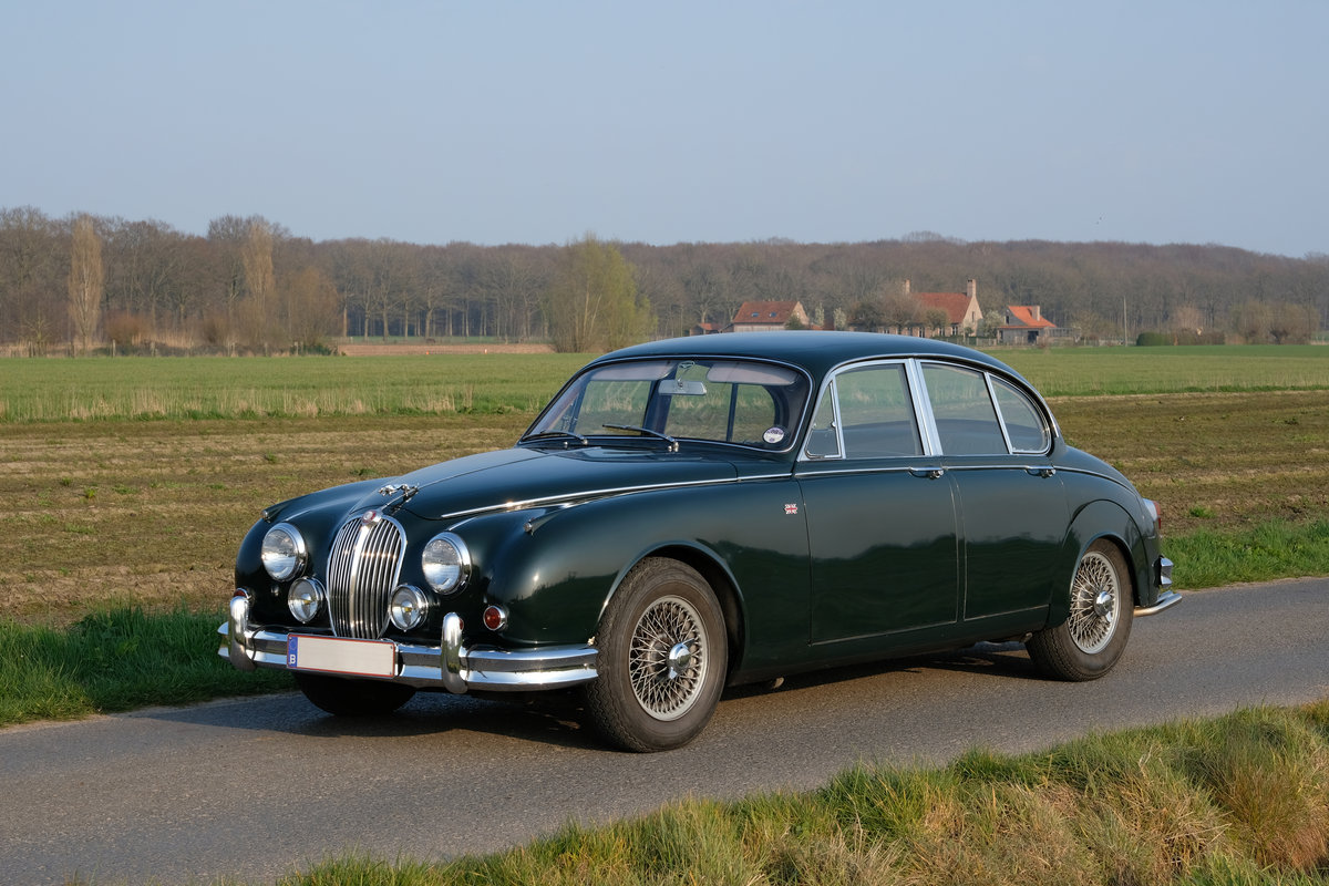 1964 Jaguar Mark II 3.8 MOD RHD Matching Numbers For Sale (picture 1 of 6)