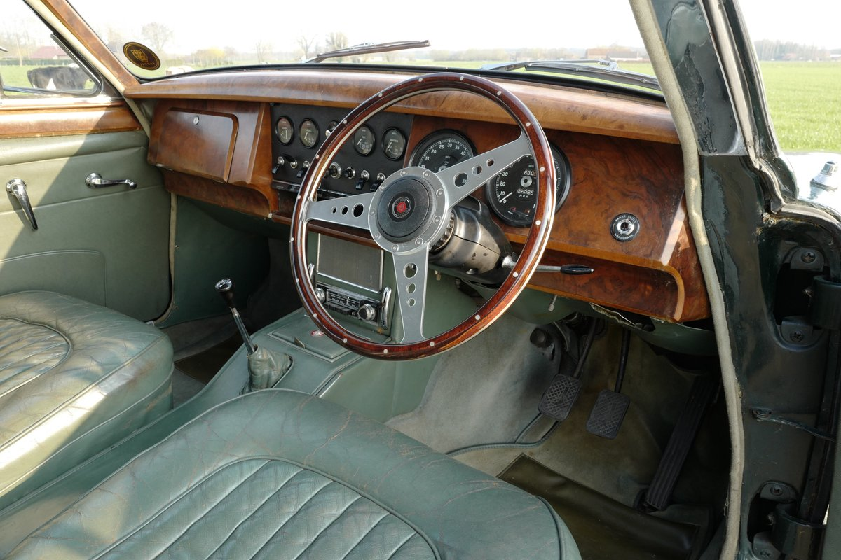 1964 Jaguar Mark II 3.8 MOD RHD Matching Numbers For Sale (picture 6 of 6)