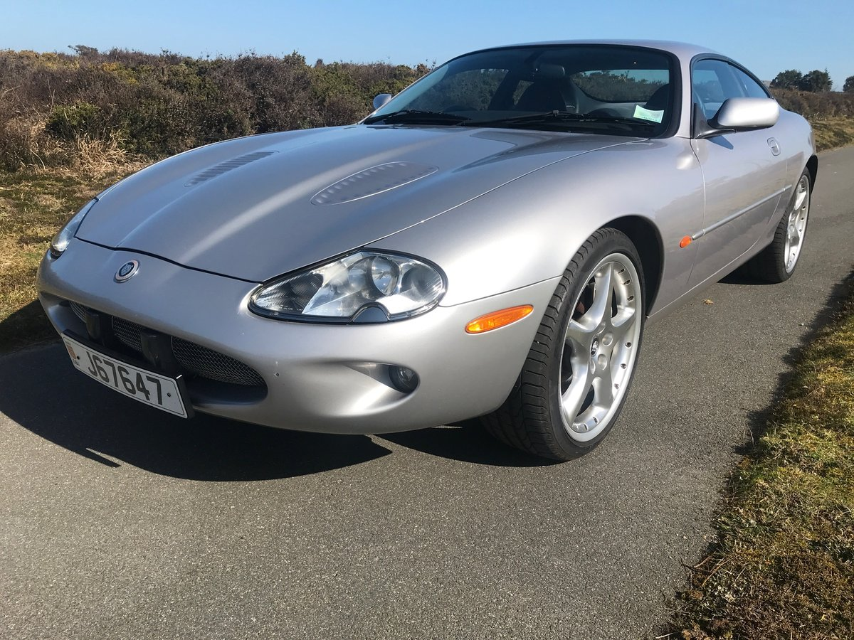 2000 Jaguar XKR Silverstone Coupe Low mileage and ownership For Sale (picture 1 of 6)