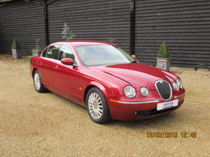 2005 Jaguar S Type, V6 petrol, 1 owner, only 75k For Sale