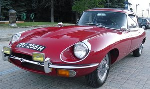 **APRIL AUCTION**1970 Jaguar E type 2+2 Coupe SOLD by Auction