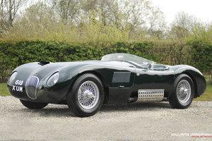 1999 Jaguar C Type 1953 by John Gregson, C.E.R.A.