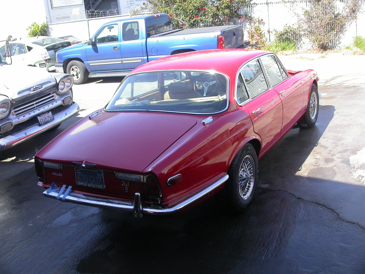1972  TWO SERIES ONE XJ6, RUSTFREE LHD CARS  $16250 SHIPPING INCL For Sale (picture 2 of 5)
