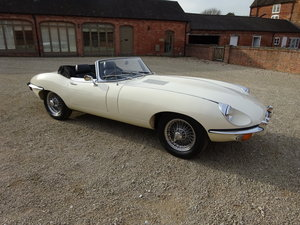 1969 JAGUAR E-TYPE SERIES2 ROADSTER 4.2 RESTORED 30 ROADTEST MLS  For Sale