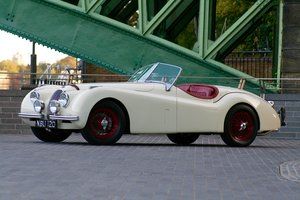 1952 Jaguar XK120 registration NBU120 For Sale