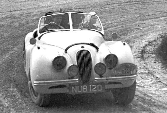 1952 Jaguar XK120 registration NBU120 For Sale (picture 6 of 6)