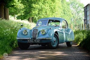 1953 Jaguar XK120 FHC - Pebble Beach 2018 participant