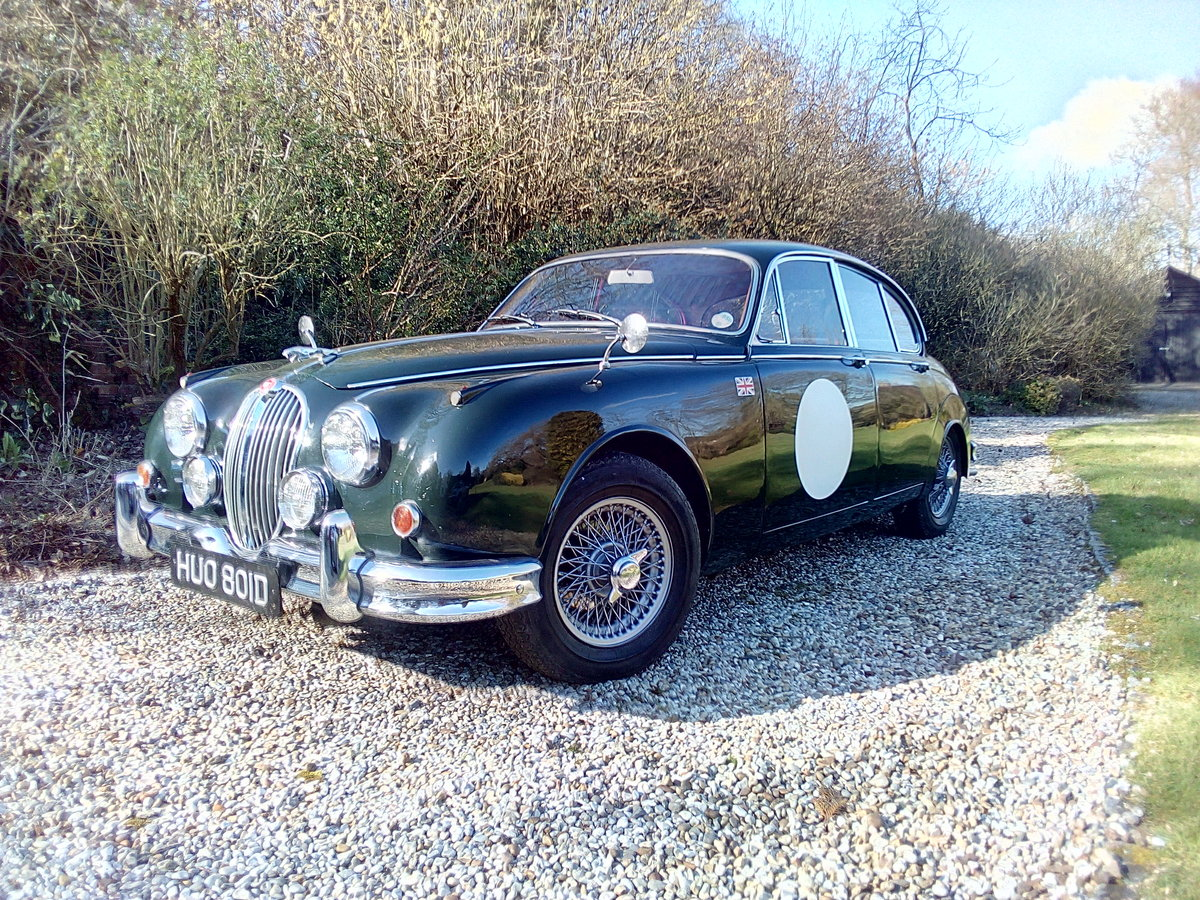 1966 Jaguar Mk 2 3.4 Manual overdrive For Sale (picture 1 of 6)