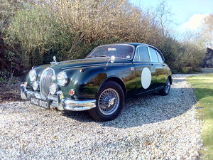 1966 Jaguar Mk 2 3.4 Manual overdrive For Sale