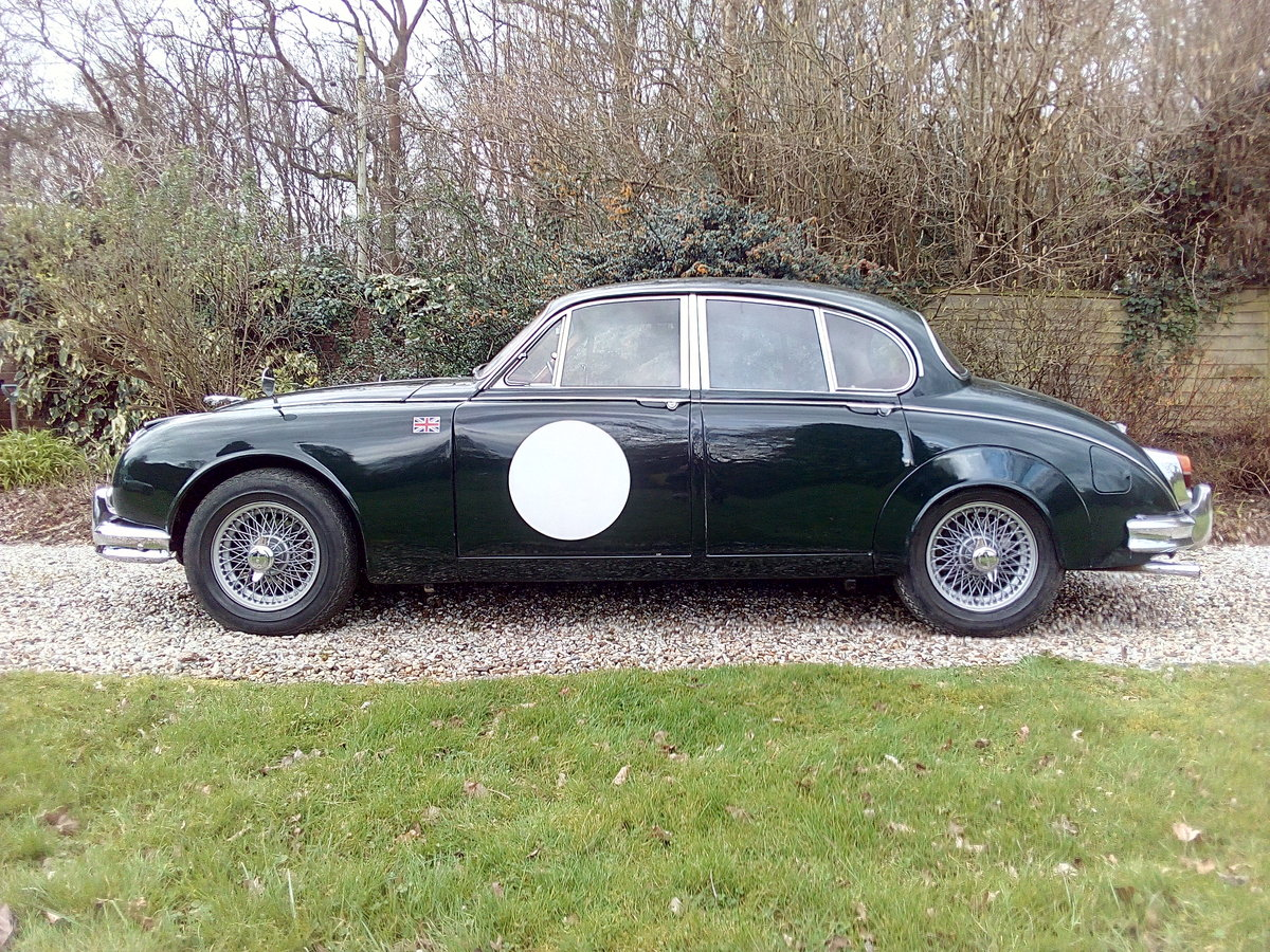 1966 Jaguar Mk 2 3.4 Manual overdrive For Sale (picture 2 of 6)