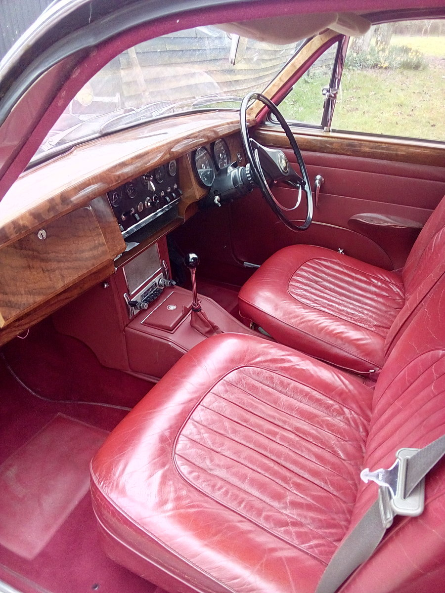 1966 Jaguar Mk 2 3.4 Manual overdrive For Sale (picture 3 of 6)