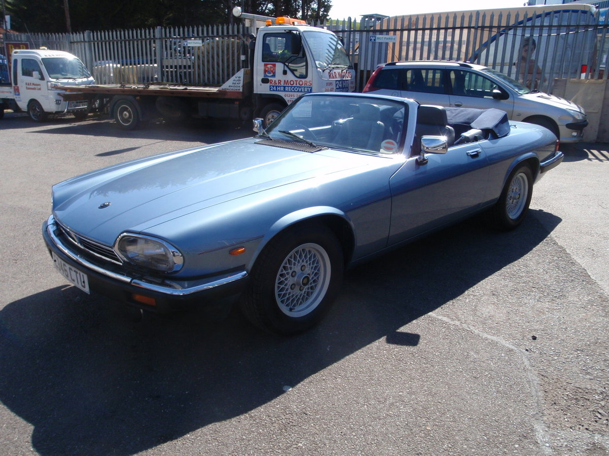 1988 jaguar xj-s convertible very low millage For Sale (picture 1 of 6)